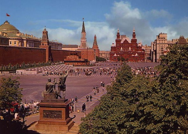 Красная площадь - Москва - Россия - Red Square - Lenin.
