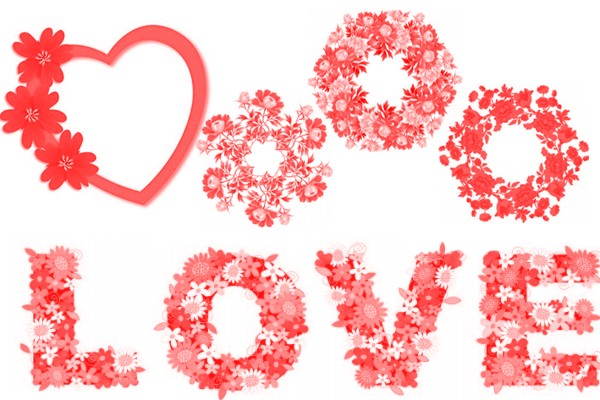 Love Brushes Size: 2.90 MB l Photoshop Brushes.