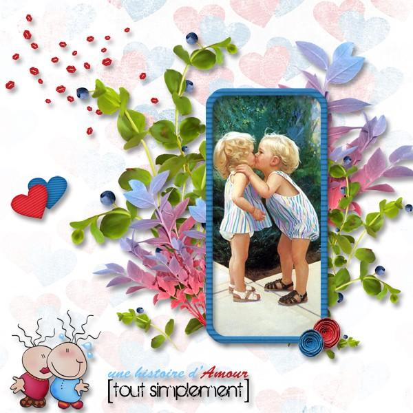 kit une histoire d'amour tout simplement simplette page lady