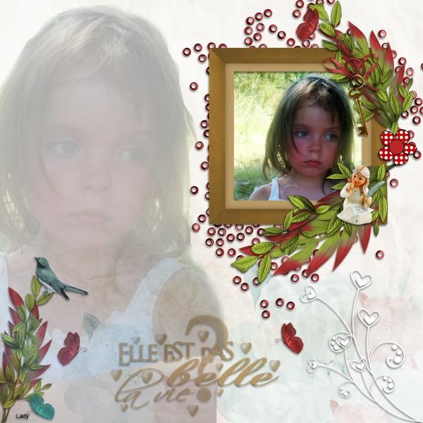 kit le doux monde de lili simplette page lady