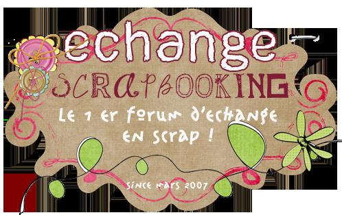 echange scrapbooking