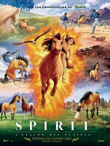Spirit, l'étalon des plaines