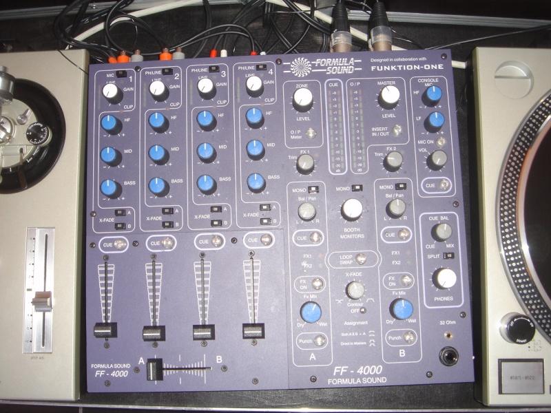 table de mixage teuf