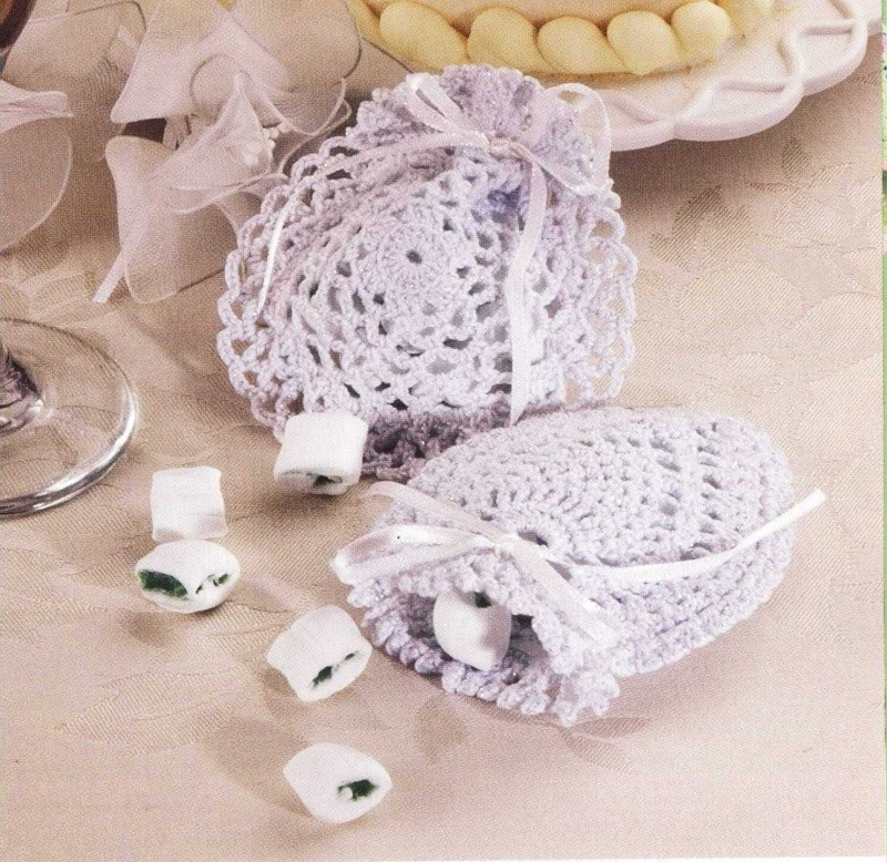Perfect Crocheted Wedding Favors Ao67 Advancedmassagebysara