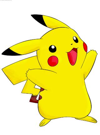 Dessin De Pokémon Pikachu En Couleur