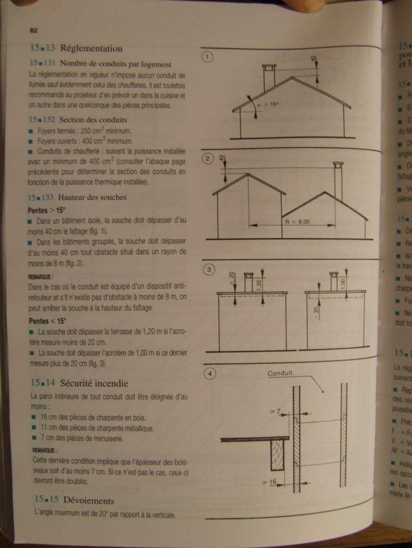 Construire un conduit de chemin e chauffage isolation for Construire cheminee foyer ouvert
