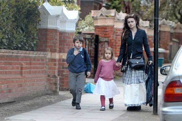 Helena bonham carter and tim burton kids are cute. the boy ...