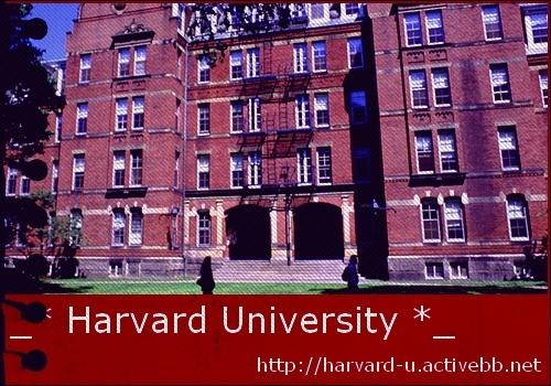 ~¤~ Harvard University ~¤~