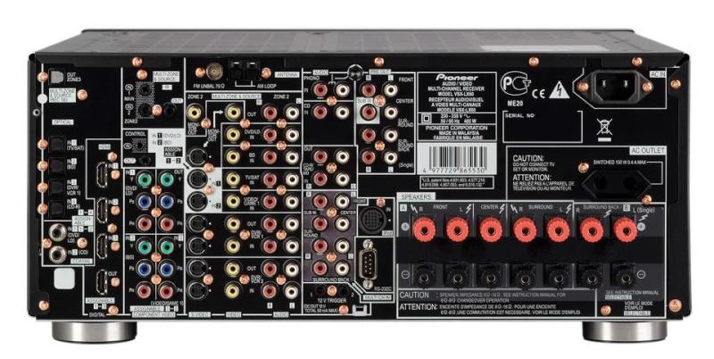 The Pioneer VSX-LX60 A/V Receiver