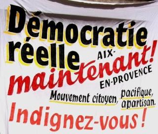 Forum de la Démocratie Réelle d'Aix en Provence