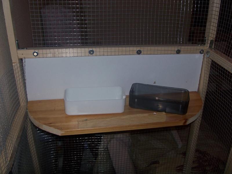 reportage photos construction d 39 une voli re int rieur page 1. Black Bedroom Furniture Sets. Home Design Ideas