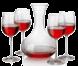 Les vins, boissons, cocktails