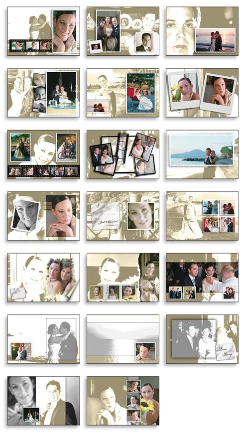 Creative Album PSD Wedding Collection   Vol 01 preview 1