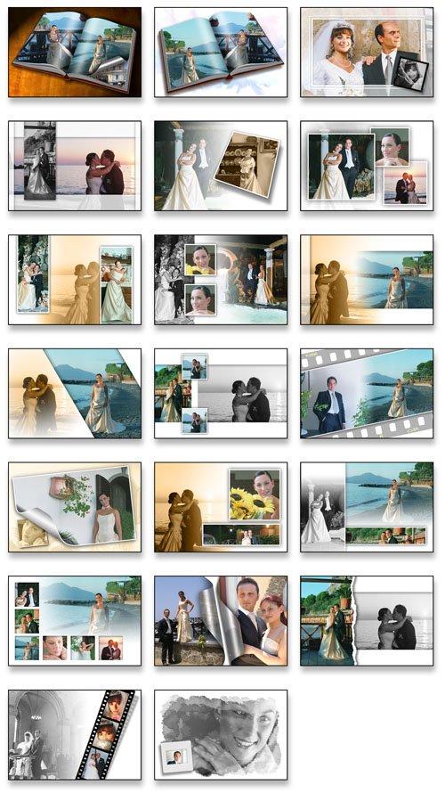 Creative Album PSD Wedding Collection   Vol 02 preview 1