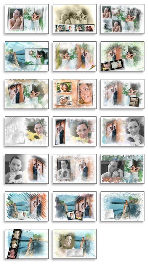 Creative Album PSD Wedding Collection   Vol 03 preview 1