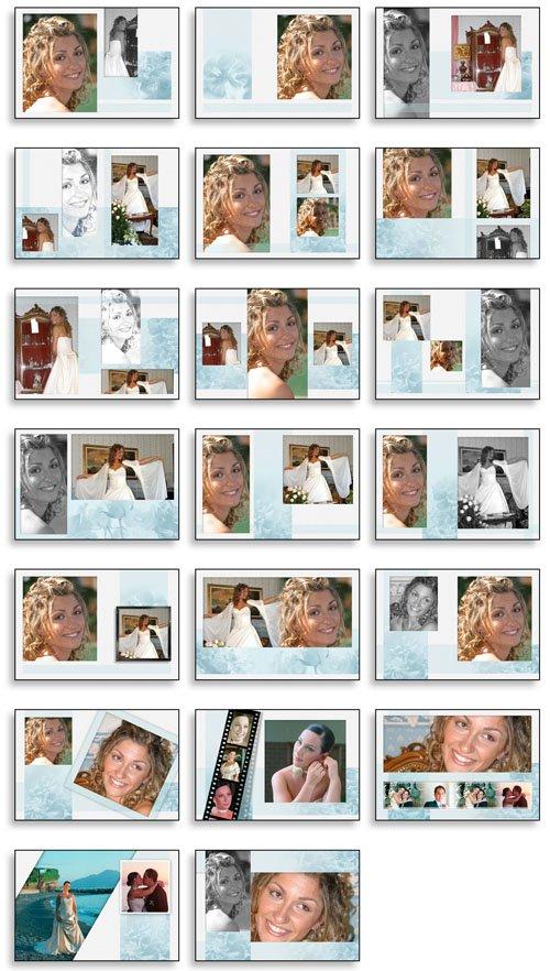 Creative Album PSD Wedding Collection   Vol 07 of 12 preview 1