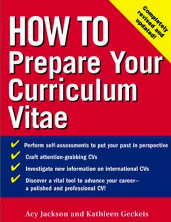 How to Prepare Your Curriculum Vitae preview 0