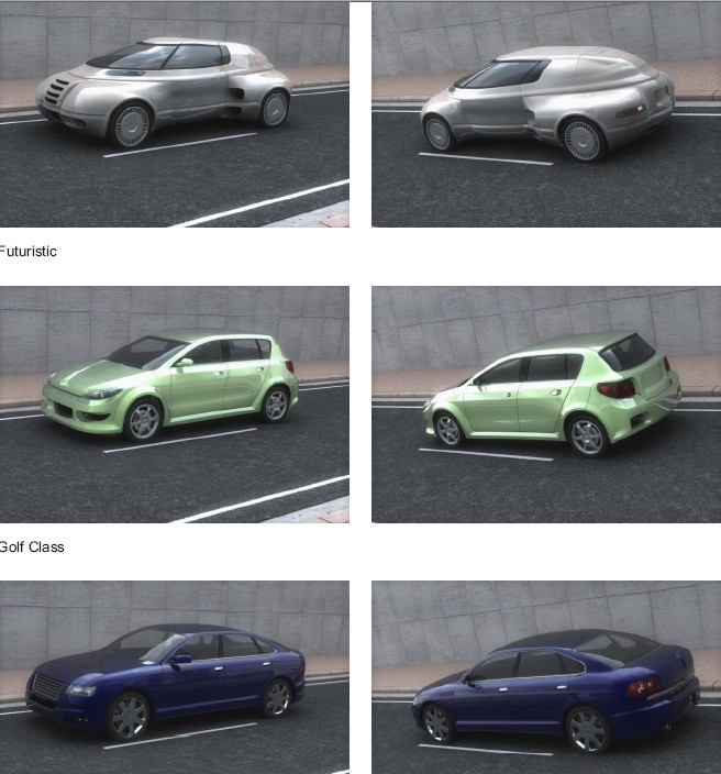 download Dosch 3D Concept Cars