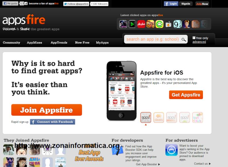 Descubre y comparte las mejores aplicaciones Android.