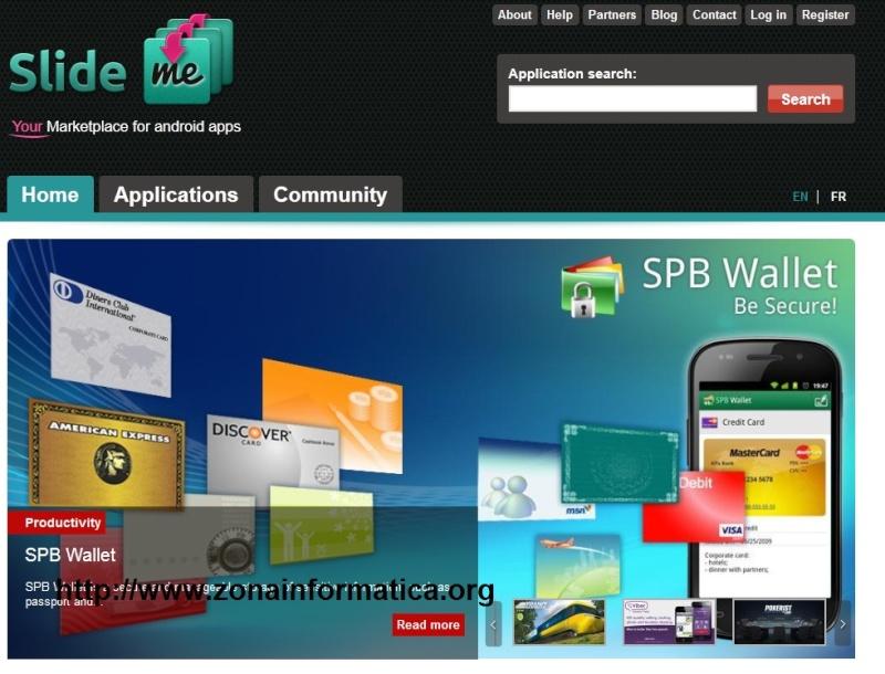Mercado de aplicaciones para Android.