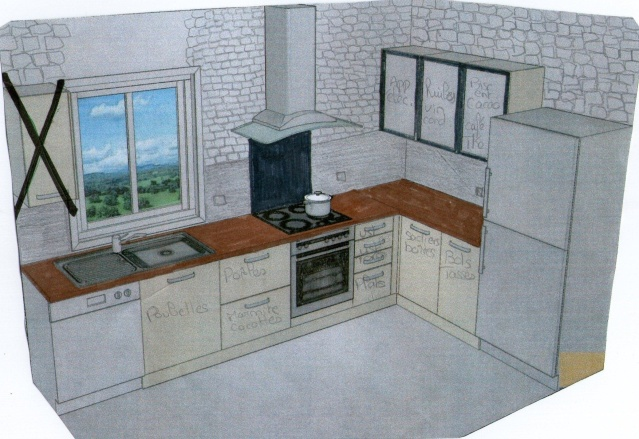 Chaise Cuisine Smith :  de Cuisine Meuble De Cuisine Jusqu'au Plafond  Choix de la cuisine