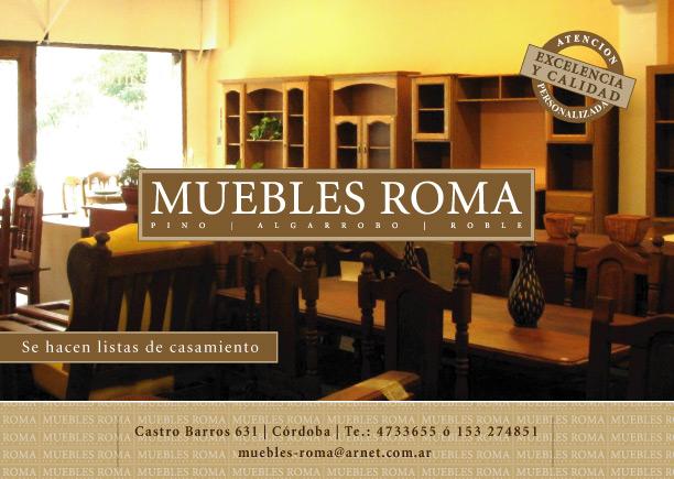 Muebles ALGARROBO  PINO  ROBLE