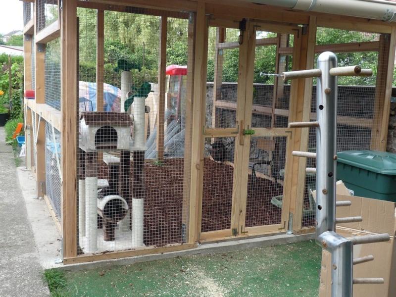 Bien loger son furet for Construire une cage a lapin exterieur
