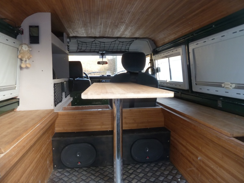 Am nagement 110 pour voyage sankey mkiii wolf page 2 for Interieur defender 90