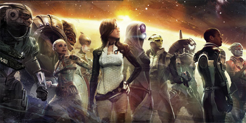 The Art of Mass Effect cover art