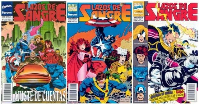 Vengadores/X-Men: Lazos de Sangre [5/5][Cómic][Español]