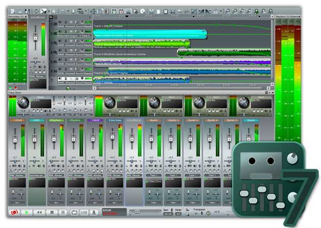 n-Track Studio 7.1.0 Build 3245 (x86/x64) with Skins - Grabador multi pista de audio y MIDI