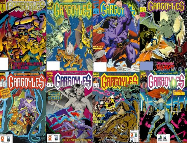 Gargoyles [1-9][Cómic][Español]