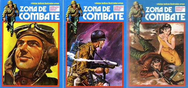 Zona de Combate #68-70 [Cómic][Español]