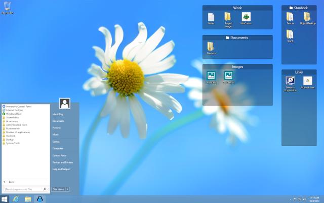 Stardock Windows xp 13 mb | Windows xp Vista 7