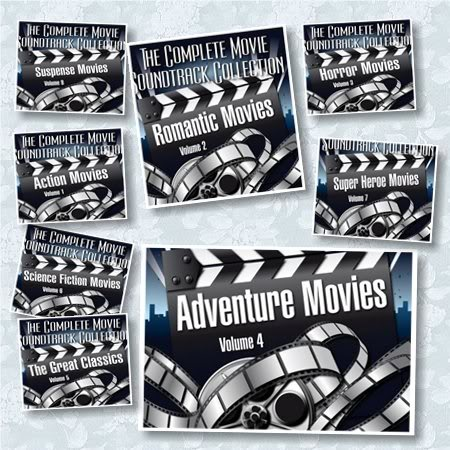 The Complete Movie Soundtrack Collection [9 CD's] (2008) [320 kbps]
