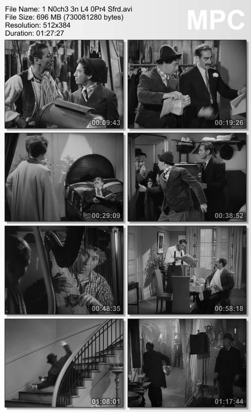 Una noche en la �pera [DVDRip][Espa�ol][Comedia][1935]