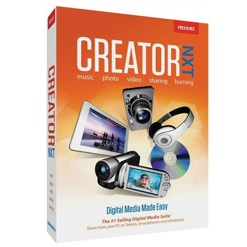 Roxio Creator NXT Pro 2013 Multilenguaje