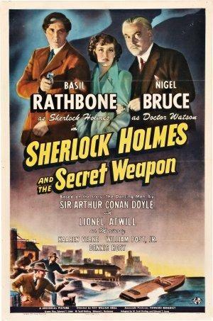 Sherlock Holmes y el arma secreta [Bluray 1080p][Dual AC3][Intriga][1943]