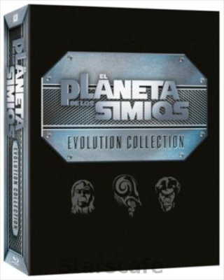 El Planeta De Los Simios [Pack de 6 películas][BDRip m720p][Dual AC3][C. Ficción][1968/2001]