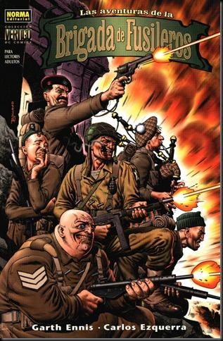 Las aventuras de la brigada de fusileros - Garth Ennis - Carlos Ezquerra [CBR | Español | 54 MB]