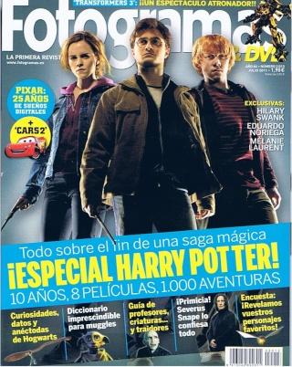 Revista: Fotogramas - Julio 2011 [49.79 MB | PDF]