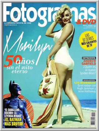 Fotogramas - Marilyn, 50 a�os sin el mito eterno | Julio 2012