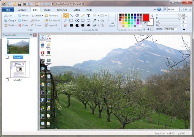 HyperSnap 7.24.01 Portable – Captura todo lo que pase por tu pantalla