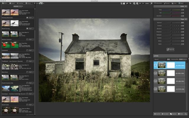 interf10 photoFXlab 1   Conjunto de efectos gráficos [Varias versiones]
