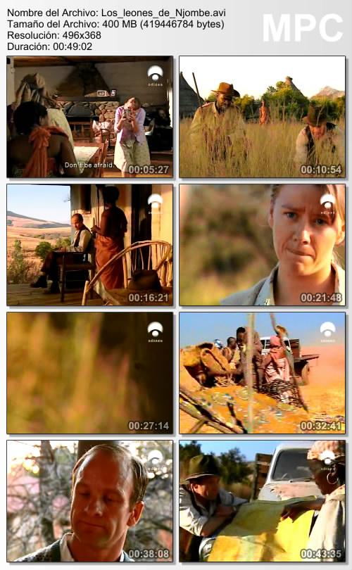 Cazadores de hombres: Los leones de Njombe [SATRip][Espa�ol][2006]