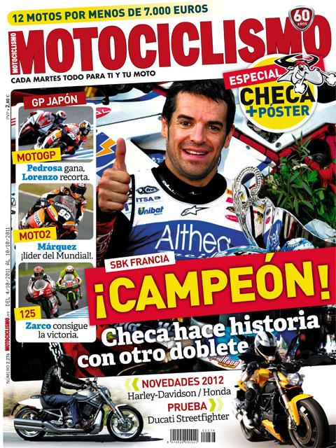 Revista: Motociclismo No. 276 - (Del 04/10 al 10/10/2011) [PDF | Español | 99.72 MB]