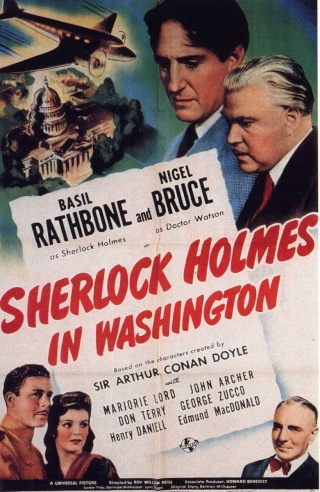 Sherlock Holmes en Washington [BDRip 1080p][Dual AC3][Intriga][1943]