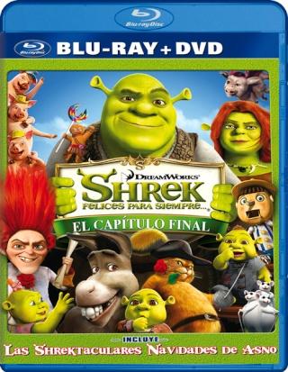 Shrek, felices para siempre (Shrek 4) [BDRip 1080p][Dual DTS.AC3][Subs][Animación][2010]