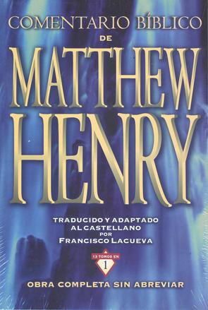 4e045310 Comentarios Biblico de Matthew Henry(25 comentarios)