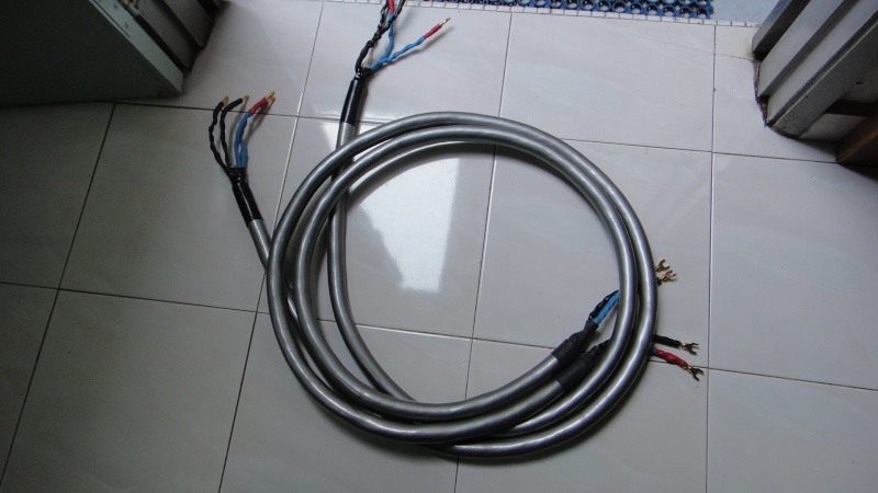 Straight wire silver surfer speaker cable (Used)SOLD
